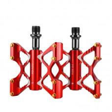 Педалі-метелики на промах Promend M56 Red легкі алюмінієві