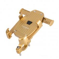 Автоматичний тримач для смартфона Promend SJJ-290, золотий