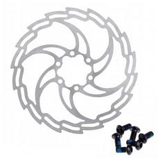 BRAKCO DR-05 полегшений гальмівний ротор 160 мм для велосипеда