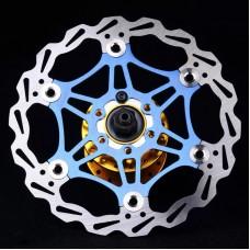 Ротор на павуці 160 мм JEDERLO FD-01, синій