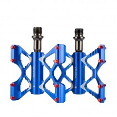Педалі-метелики на промах Promend M56 сині легкі алюмінієві